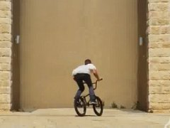 Insane wall ride
