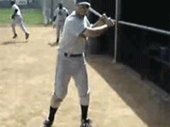 Baseball bat trick