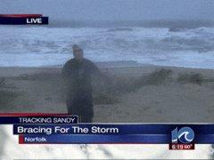 Hurricane Sandy Gangnam style