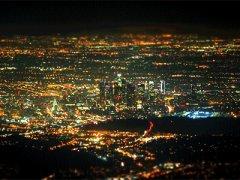 LA nighttime timelapse