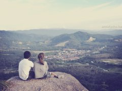 Romance on the mountain top