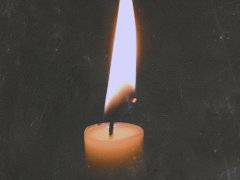 Unfading candle