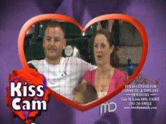Kiss cam love
