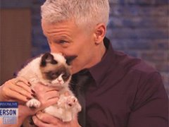 Grumpy Cat on Anderson Cooper show