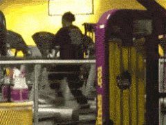 Dance on the treadmill