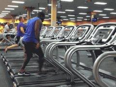 Treadmill dance