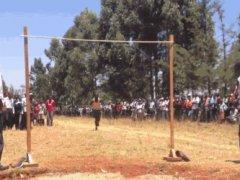 Kenian high jumper