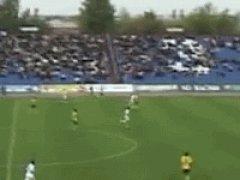 Amazing keeper goal