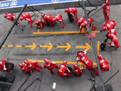 Perfect Ferrari F1 Pit Stop