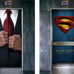 Clever Man of Steel marketing