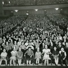 A meeting of the Mickey Mouse Club, early 1930s