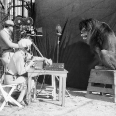The recording of the Metro-Goldwyn-Mayer Lion, 1929