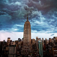 A Derecho Over New York City