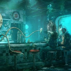 Personal Artwork: Octopus' Diner
