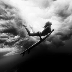 Underwater Surfer