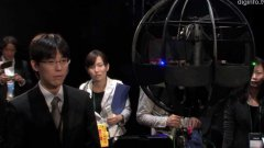Japan Unveils Remote Control Flying Sphere Machine