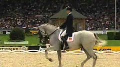 Proper Horse And Rider Dressage Dance To Hip Hop Music