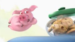 Ormie The Pig Wants A Cookie Animation