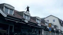 Stuntman's brutal parkour crash