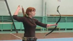 Archery Master Shows Off Her Speed And Skill