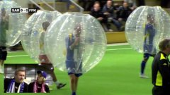 Bubble Soccer In Norway