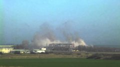 Demolition of Richborough Power Station Cooling towers