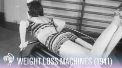 Vintage 1940′s Video On Women's Gym Equipment