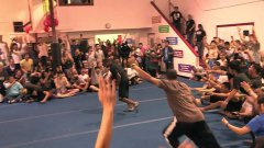 Amazing Gymnastics Jumping And Flipping