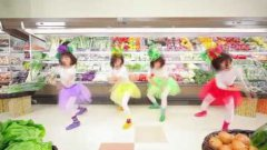 Japanese Girls Dance At Grocery Store Music Video
