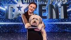 Ashleigh and Pudsey at Britain's Got Talent 2012 Final