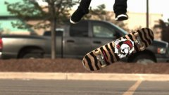 1000 fps slow motion flat ground tricks