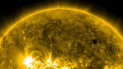 Ultra-high definition view Venus transit 2012