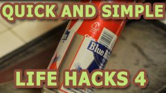 Quick and simple life hacks - part 4