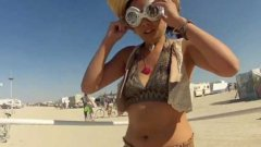 Hula cam at Burning Man 2012