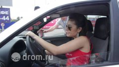 Sasha Grey on russian Lada Kalina