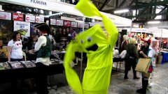 Inflatable arm flailing tube guy cosplay costume