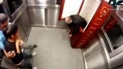 Extremely scary corpse elevator prank