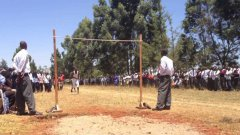 Kenya high jump at high school