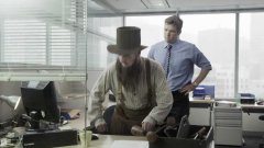 Amish IT guy at the office