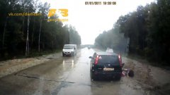 Extremely close calls caught on russian dash cams