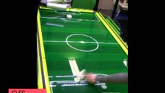 High-speed intelligent air-hockey robot
