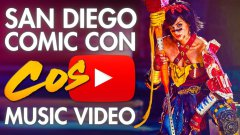 San Diego Comic Con 2013 cosplay music video