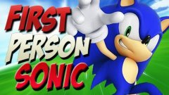 First person Sonic the Hedgehog