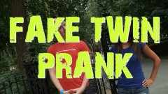 Fake twin brother prank at the park