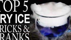 5 tricks and pranks with dry ice