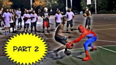 Spiderman plays basketball part 2