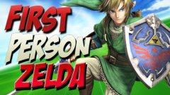 First person Legend of Zelda