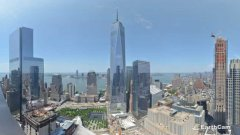 One world trade center time-lapse 2004-2013