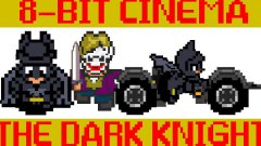 Batman The Dark Knight 8 bit video game parody