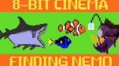 Finding Nemo as an 8-bit video game